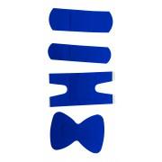 Sinised plaastrid tekstiil/sõrmenukile 68x38mm 5..